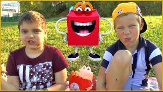 Славный Обзор Skylanders игрушки Хеппи Мил МакДональдс Littlest toys Unboxing Happy Meal McDonalds