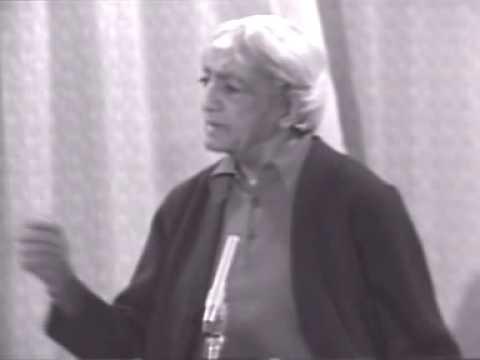 jiddu krishnamurti speech mp3