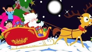tinir Sinos | natal Canções para crianças | Christmas Carols | Santa Claus Song | Jingle Bells