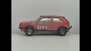Matchbox 1985 VW Golf GTI - Custom Video