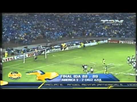 America vs Cruz Azul Final 88-89 13 y 16 Julio 1989 Estadio Azteca