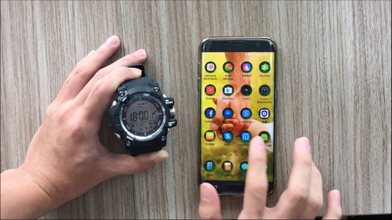 How to remove the account in NO 1 F2 – NO 1 Smartwatch, start your