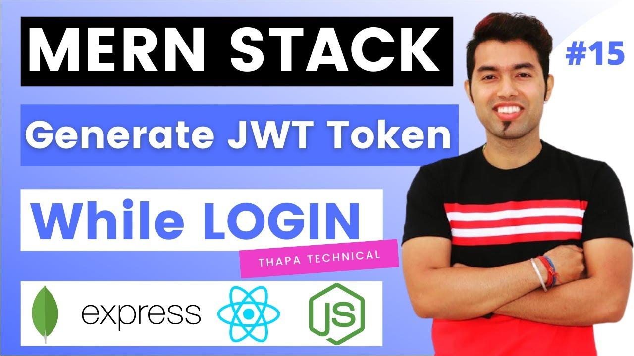 User Authentication Using JWT & Stored Token In MongoDB Atlas in MERN Stack