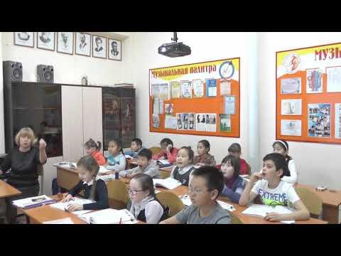 Открытый урок по сольфеджио видео 3 класс