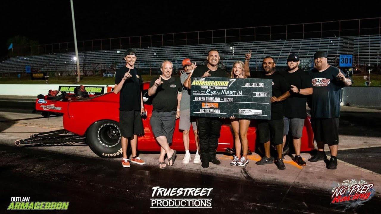 Download Outlaw Armageddon 7 - OG Fireball Camaro Wins Big Tire!