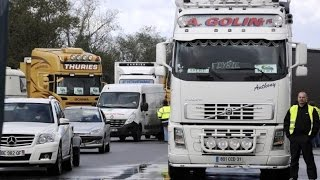 Grève des routiers :