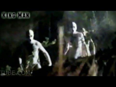 Persona instala cámaras de seguridad y graba extraterrestres merodeando su casa ??