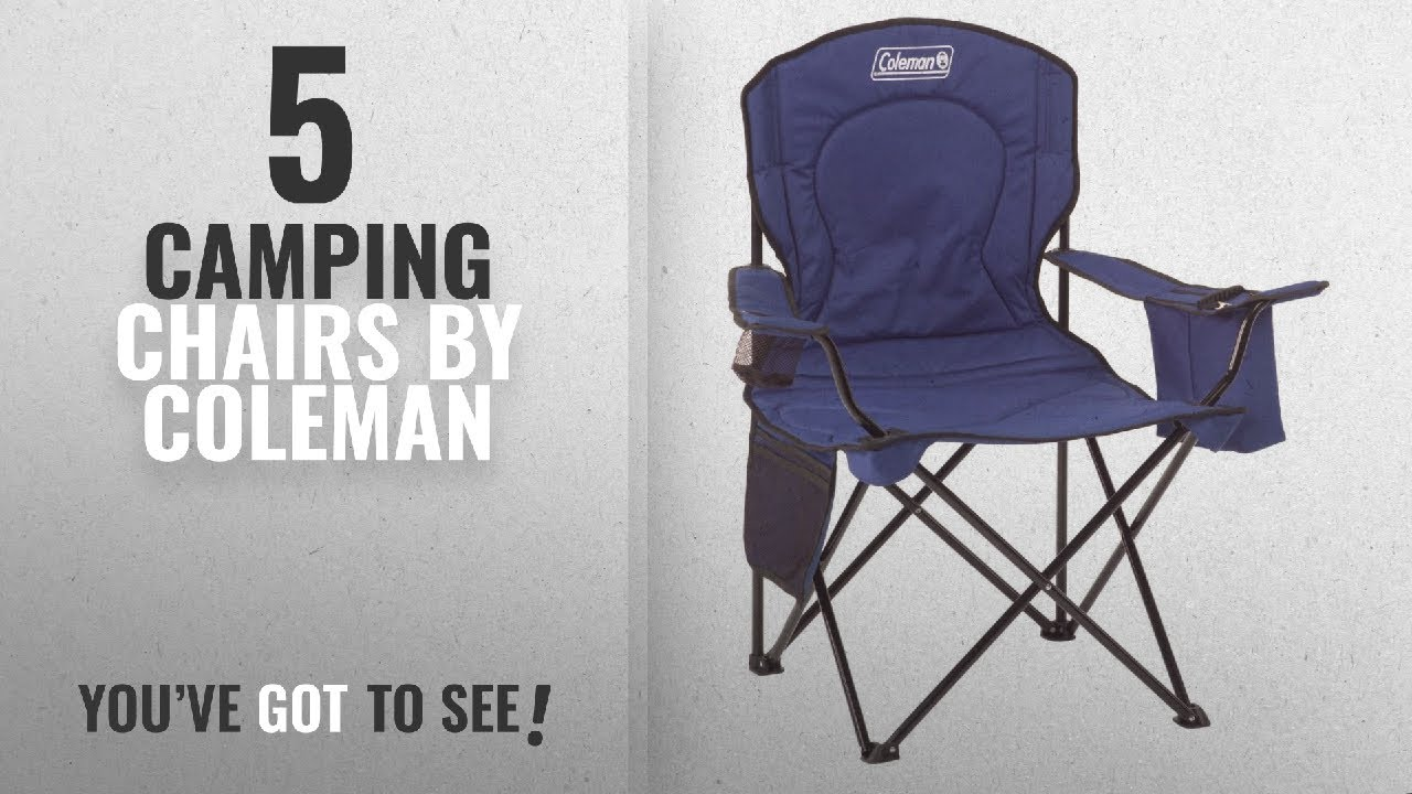 Coleman Comfortsmart Chair Top 10 Coleman Camping Chairs 2018 Coleman Cooler Quad Portable Camping Chair Blue