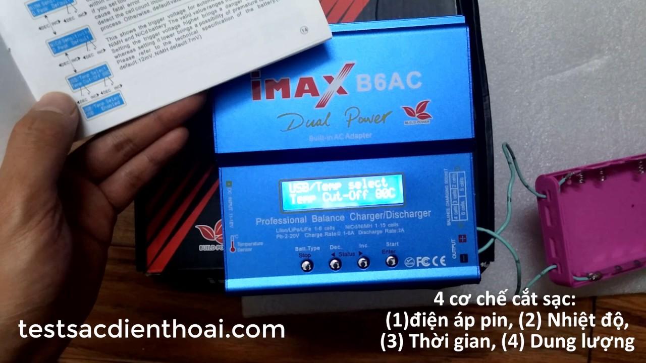 Hướng dẫn dùng imax B6 AC và imax B6 của BUILD POWER #1