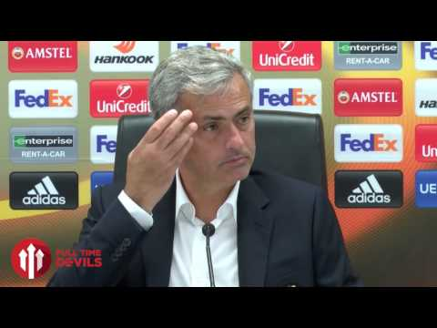 Jose Mourinho: No Excuses for Sunday! | Feyenoord 1-0 Manchester United | PRESSER