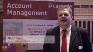 Neil lewis talks about the role of account managers at one uk's leading hr software providers - cascade hr. read more http://www.cascadehr.co.uk/
