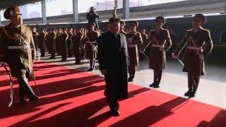 Лидер КНДР отправился на новую встречу с Трампом