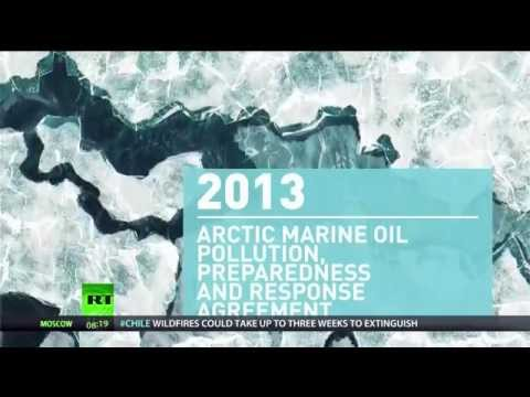 Ice Cold: Race for Arctic Resources Heats up as Gas Reserves discovered