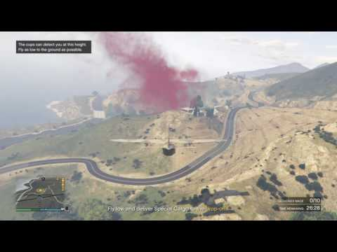 Gta5 imposible $735k cargo delivered in a Titan solo lobby
