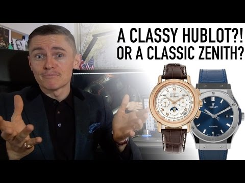 A First Look At A Classy Hublot?! Or Should I Buy A Zenith El Primero Next?  + Surprise Unboxing