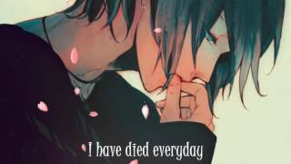 Nightcore A Thousand Years Male Version Lyrics