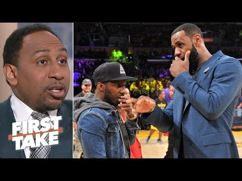 The NBA is against schemes of LeBron James and Rich Paul – Stephen A. | First Take thumbnail