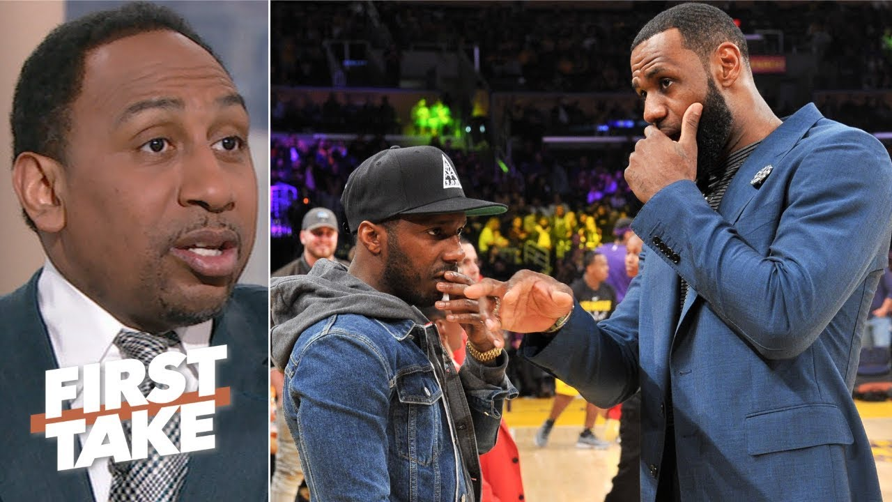 The Nba Is Against Schemes Of Lebron James And Rich Paul Stephen A First Take