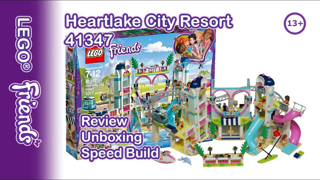 41347 LEGO Friends Heartlake City Resort Set 1017 Pièces Âge 7 Ans