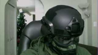 Airsoft/Paintball (Helmet + Mask) Setup Tutorial