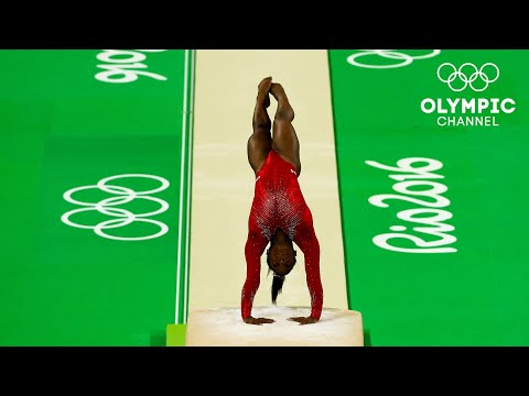 1️⃣6️⃣ - Simone Biles' highest scored event - 16.050 | #31DaysOfOlympics