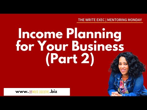 The Write Exec Tips | Income Planning Walkthrough