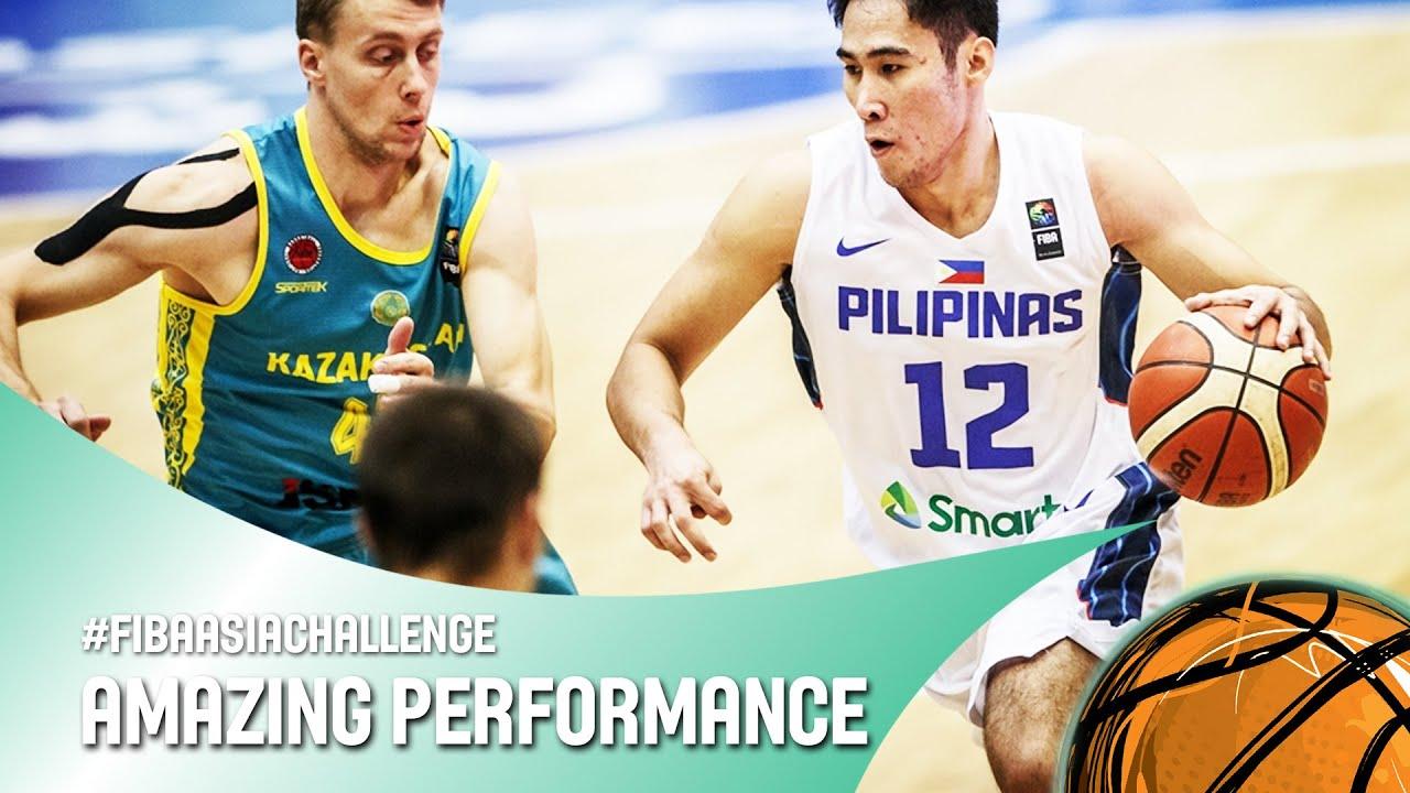 Rey Mark Belo (30 points, 11 rebounds) vs. Kazakhstan - FIBA Asia Challenge 2016