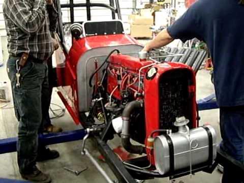 Killer Chevrolet 292 Race Engine Vintage Dragster
