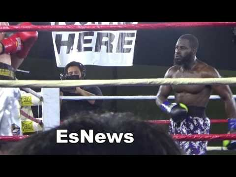 Kazakhstan boxing star from RGBA in the ring EsNews Boxing