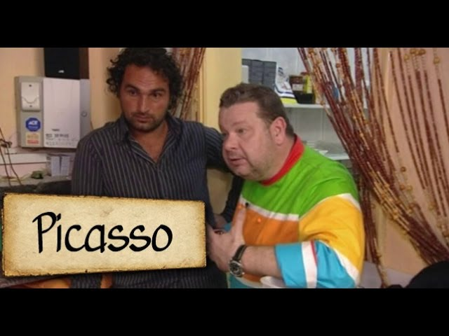Picasso los abrigos cerrado