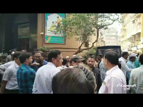 A dharna outside Bombay Mercantile Bank has been organised by SEWA