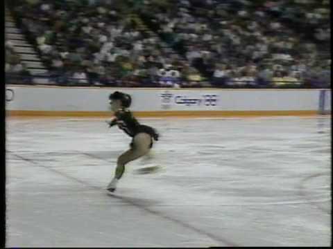 Midori Ito 伊藤 みどり (JPN) - 1988 Calgary, Ladies' Short Program (HQ)