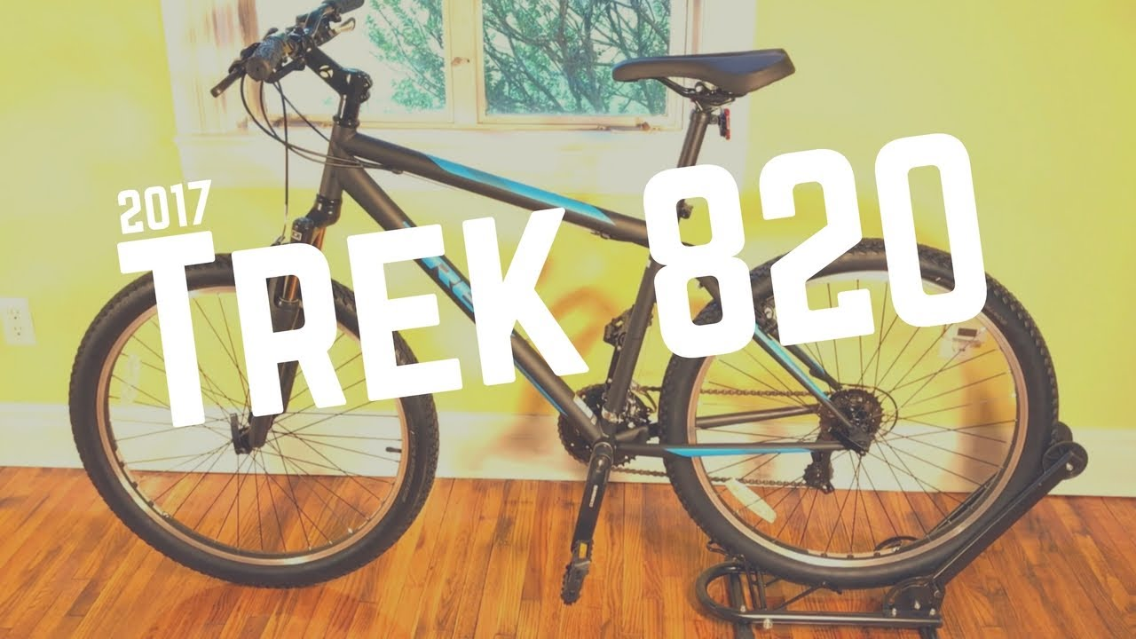 58dd735ce19 2017 Trek 820 Mountain Bicycle - Feature overview - YouTube