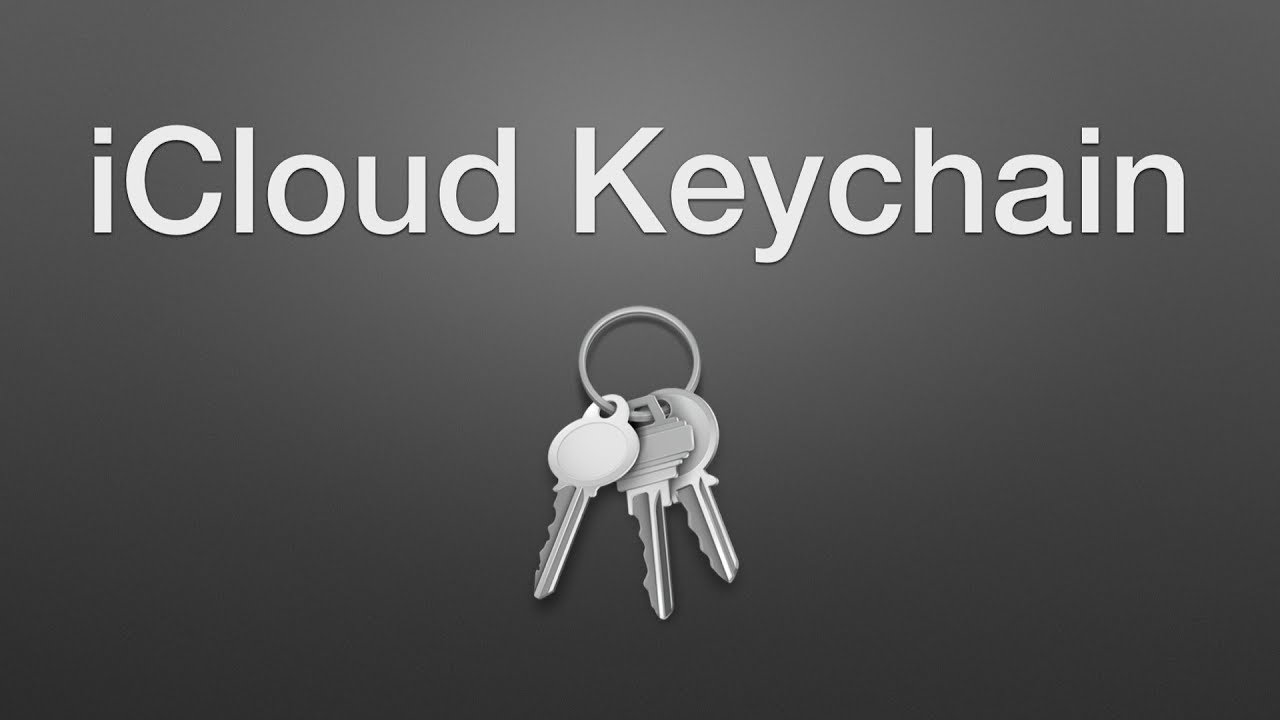 find old keychain password