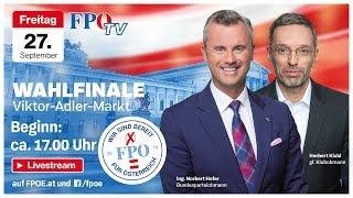 Wahlfinale mit Norbert Hofer & Herbert Kickl!