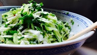 How To Make Asian Slaw Salad