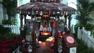 Disney's Boardwalk Resort Gingerbread Display - Stitch, Donald, Chip & Dale, Star Wars Reference!