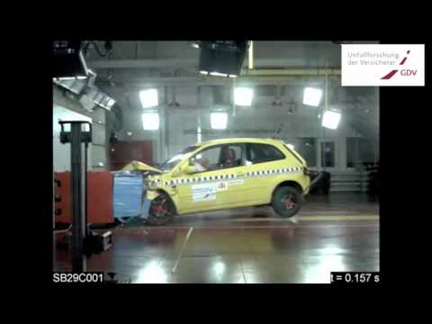 Dangerous Old Cars For Beginners Crash Test Comparison Between