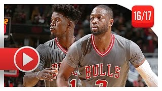 Dwyane Wade & Jimmy Butler Full Highlights vs Cavaliers (2016.12.02) - 50 Pts, ESPN Feed