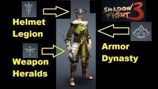 Shadow Fight 3 - Mix 3 Faction Style Dynasty Legion Heralds