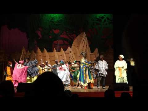 Accra National Arts Theatre performance