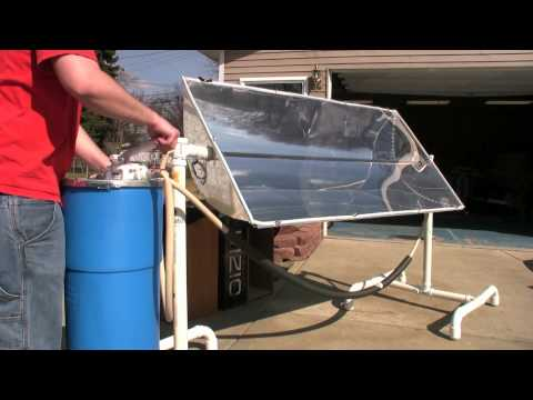 Solar Trough: Maple Syrup Preheater