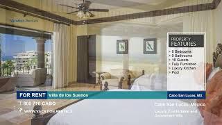 Mexico | Vacation Rentals |  Villa de los Suenos - 16 Guests | Cabo San Lucas