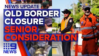 Update: Queensland border shut in few hours, Victorian Year 12 exam uncertainty | 9 News Australia