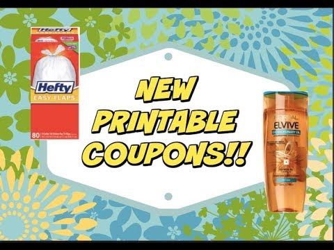 picture regarding L Oreal Printable Coupons known as Fresh new PRINTABLE Discount coupons!!! Major, Loreal Elvive added!