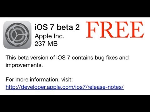 HOW TO GET IOS 7 BETA 2 WITHOUT REGISTERING YOUR UDID