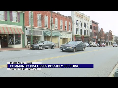 Tazewell County Board Of Supervisors Discuss Possibility Of Leaving Virginia, Becoming Part Of West