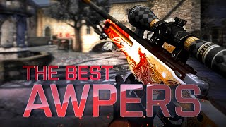 CS:GO | The BEST PRO AWPERS (Most I...