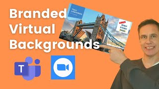 How to create a Branded Virtual Background