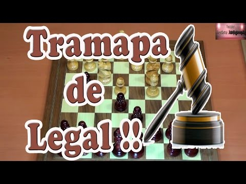 Trampa de Legal | Jaque Mate de legal | Celada de ajedrez